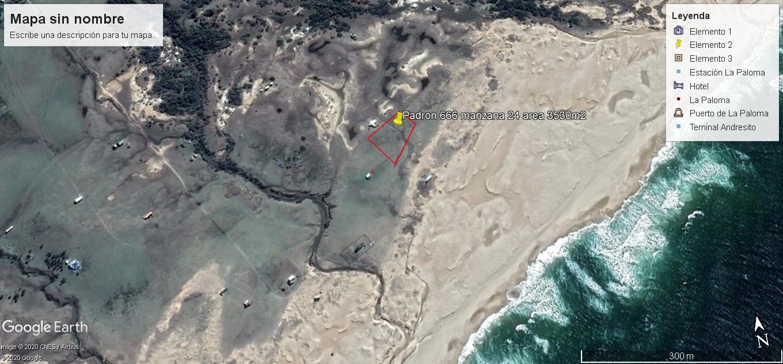 Terreno de 3530 m2 en Atlantica